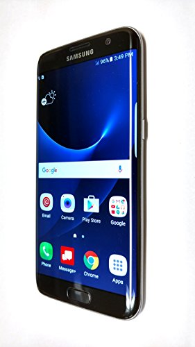 Samsung Galaxy S7 Edge, Black 32GB (Verizon Wireless) - Platinum Black Onyx