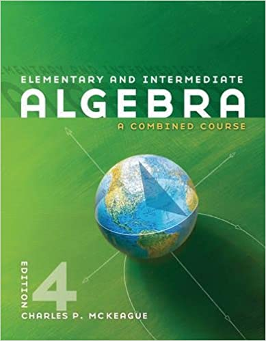 Elementary and intermediate algebra available titles cengagenow elementary and intermediate algebra available titles cengagenow charles p mckeague 9780840064196 amazon books fandeluxe Choice Image