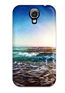 For Galaxy Case, High Quality Artistic The Beach For Galaxy S4 Cover Cases