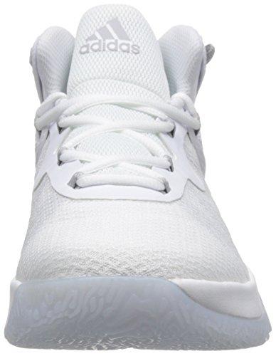 adidas Explosive Bounce, Zapatillas de Baloncesto Unisex Adulto Varios Colores (Ftwbla/Gridos/Ftwbla)