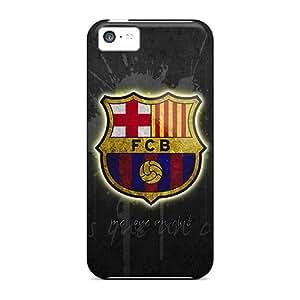 LisaSwinburnson Iphone 5c Protective Hard Phone Covers Allow Personal Design Lifelike Fc Barcelona Image [YbV13190vsTt]