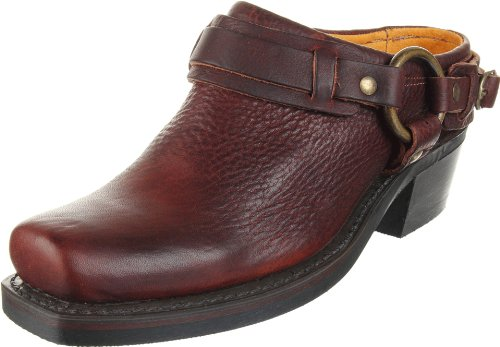 FRYE Women's Belted Harness Mule