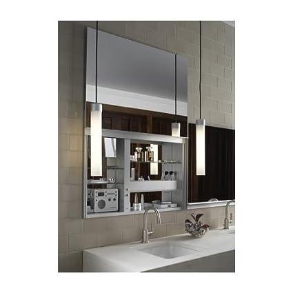 Robern CB UC3627FPL Uplift Flat Plain Mirror Medicine Cabinet
