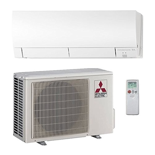 Mitsubishi 18,000 Btu 21 Seer Single Zone Ductless Mini Split H2i Hyper Heat Pump