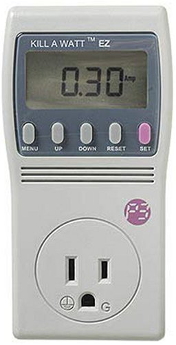 Watt Electricity Usage Monitor - P3 International P4460 Kill A Watt EZ Electricity Usage Monitor
