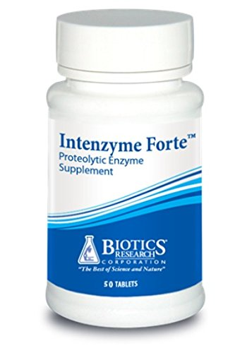 Biotics Research Intenzyme Forte 100 Tablets