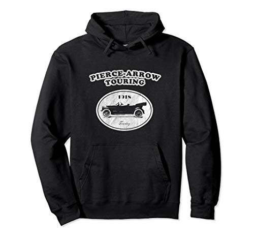Retro Pierce-Arrow Hoodie Touring Classic Car Sweatshirt