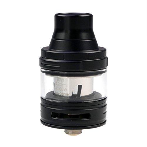 Eleaf ELLO Clearomizer 2 ml / 4 ml, Durchmesser 25 mm, Riccardo Verdampfer für e-Zigarette, schwarz