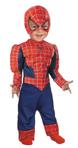 Spiderman Baby Costume - Child Medium