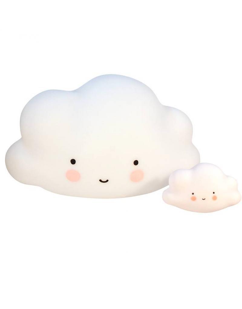 A Little Lovely Company Lampe pour enfants en forme de nuage