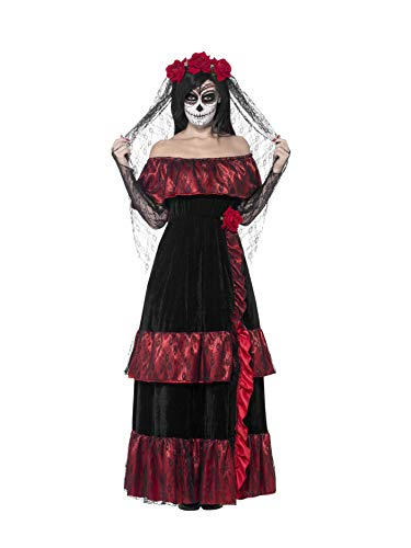 Smiffy's Women's Day of The Dead Gothic Rose