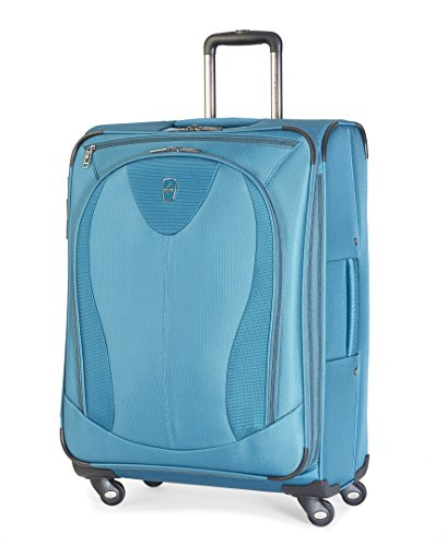 Atlantic Luggage Ultra Lite 3 25 Inch Expandable Spinner, Turquoise, One ()