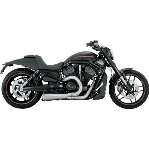Vance & Hines Competition Series 2 into 1 Exhaust Stainless (Competition Series Exhaust)