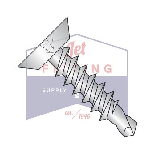 10-16X3/4 Self-Drilling Screws   Phillips   Flat Undercut Head   410 Stainless Steel (QUANTITY: 7000)
