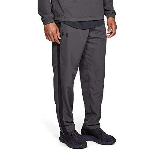 Woven Warm Up Pant - Under Armour Men's Sportstyle Woven Pants , Charcoal (019)/Charcoal, XX-Large