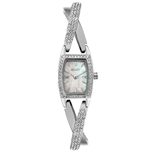 DKNY Women's NY4633 Crystal Accented Stainless Steel Watch from DKNY