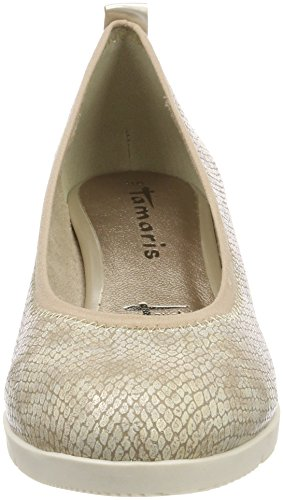 Damen Light Gold Gold Tamaris Pumps Str 22311 apwqq1R