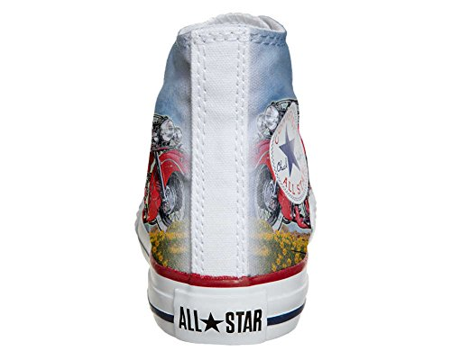 Converse Customized Adulte - chaussures coutume (produit artisanal) Indiana Motor