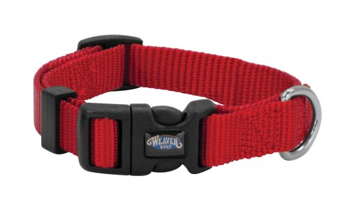 Weaver Leather Prism Snap-N-Go Collar, Large, - Shop Go Red