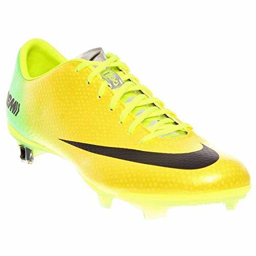 Yellow Silver metallic black Uomo Nike Mercurial Da Vibrant Scarpa Vapor lime Calcetto waP0qf
