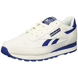Reebok Men's Classic Renaissance Fashion Sneaker, us-White/Silver/Collegiate, 5 M US