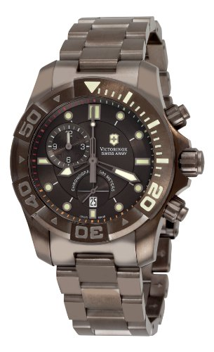Victorinox Swiss Army Men's 241424 Dive Master 500 Chrono Black Dial Watch