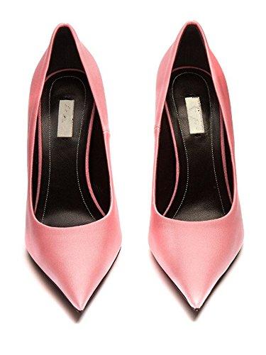 Ladies Pink Tacchi Scarpe Ccbubble Pompe A Spillo Donne Con 8w1txqp0
