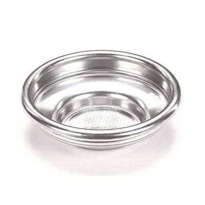 Rancilio 40100101 Portafilter 1 Cup Filter Basket Espresso - Set of 2
