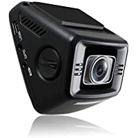 Dashboard Camera AUTO-VOX B60 FHD Mini Dash Cam Car Recorder with WDR G-Sensor Loop Recording One-Key One Camcorder 32G Card Included
