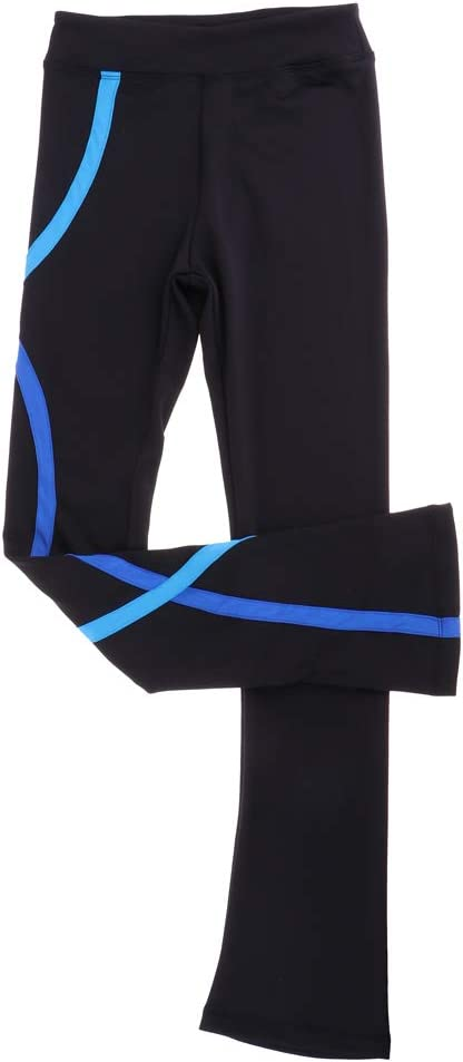 Baoblaze Figure Skating Outfit Straight Skate Pants Trousers Training Suit for Girls Women