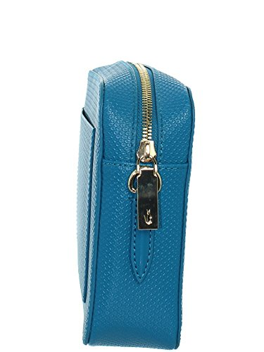 Lacoste NF2068CE, Bolso Bandolera para Mujer, 16 x 5.5 x 24 cm turkish tile 904