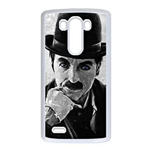LG G3 Phone Case White Chaplin ZHC2671626