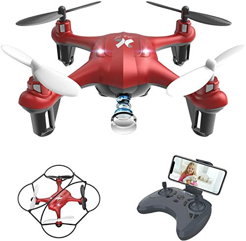 ATOYX Drone for Kids with Camera,WiFi FPV HD Camera Drone,Gravity Sensing ,3D Flips, Headless Mode,One Key Take Off…