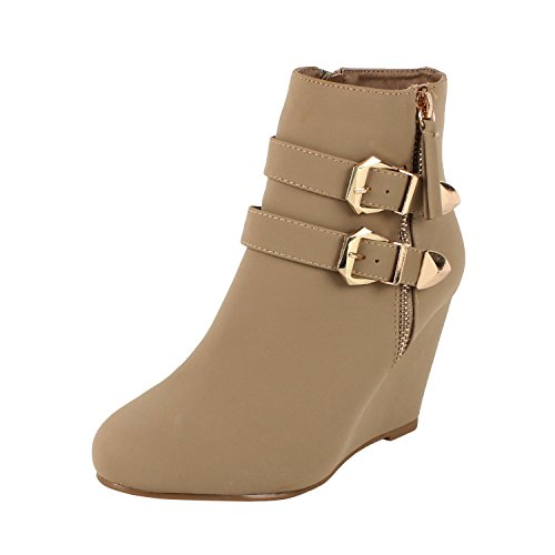 Amman Ankle Wedge High Boots product image