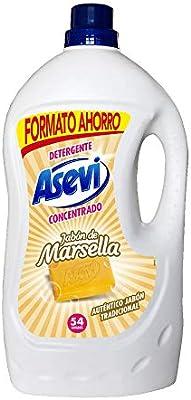 Detergente Asevi Jabón de Marsella 54 dosis: Amazon.es: Industria ...