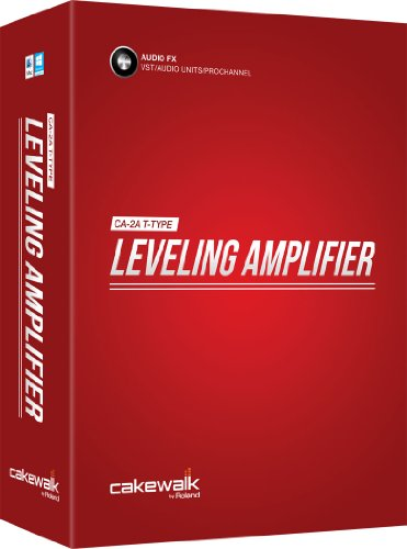 Cakewalk CA2A T-Type Leveling Amplifier Software Effect Plug-in -