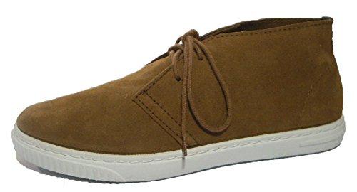 Potomac unisex Schnürschuhe Desert Boots Halbschuhe Leder braun
