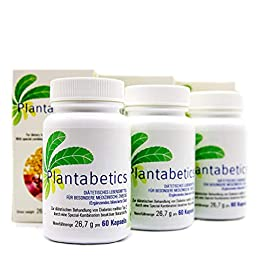 Plantabetics Kräuterkapseln zur Blutzucker Senkung