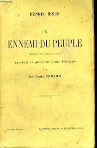 Un Ennemi du Peuple par Henrik Ibsen