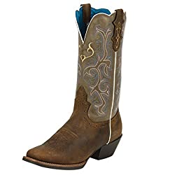 Justin Boots L2552 Women's Stampede Western Boot Sorrel Apache