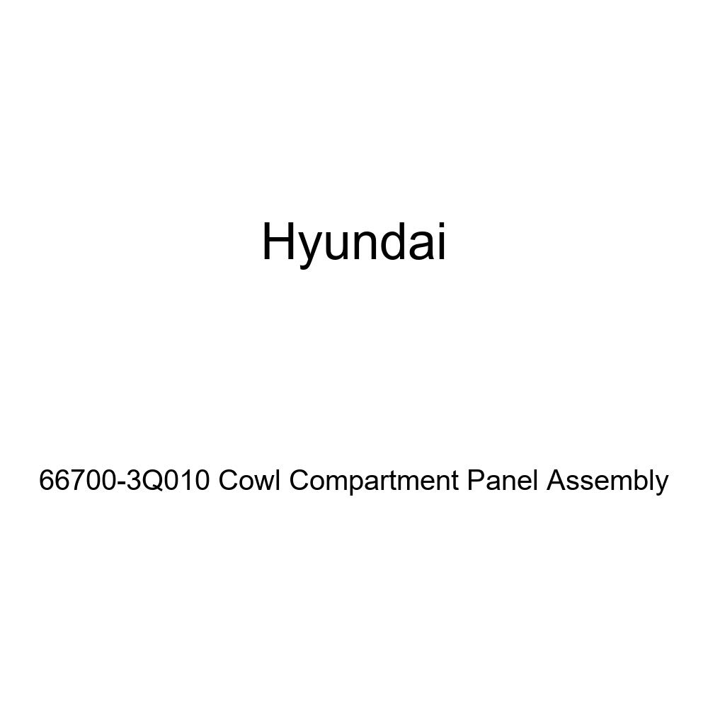 Genuine Hyundai 66700-3Q010 Cowl Compartment Panel Assembly