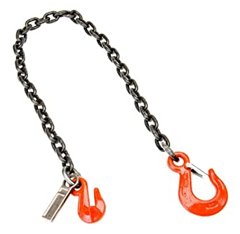 Mazzella SGS Welded Alloy Chain Sling, Fixed-Leg, Grade 80, Vertical Load Capacity