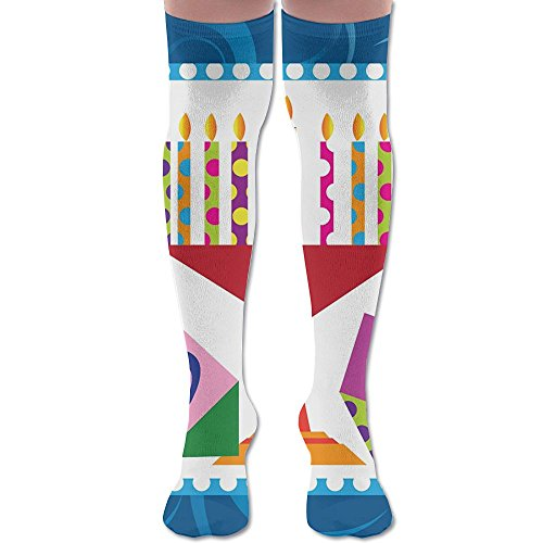 Hanukkah Candle Chanukah Knee High Compression Socks Outfit