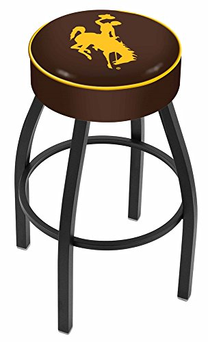 Holland Bar Stool L8B1 University of Wyoming Swivel Counter Stool, 25