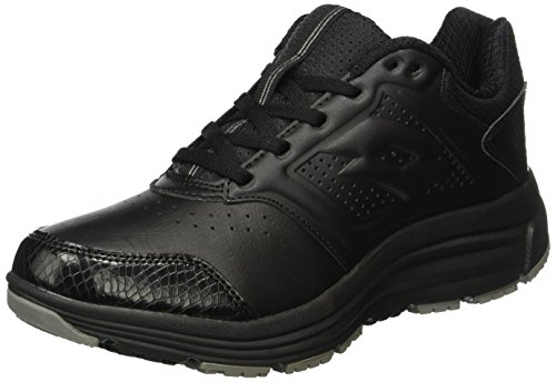 Lotto Love Ride LTH AMF W, Zapatillas de Running Para Mujer Negro / Gris (Blk / Tit Gry)