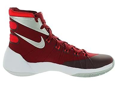 Nike Hyperdunk 2015, team red/university red/white/metallic silver,  9 M US