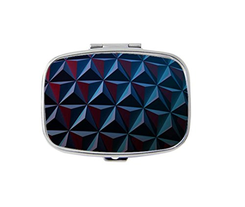 epcot-florida-usa-unique-custom-hot-sale-square-pill-case-organizer-box-by-sam-yung-art