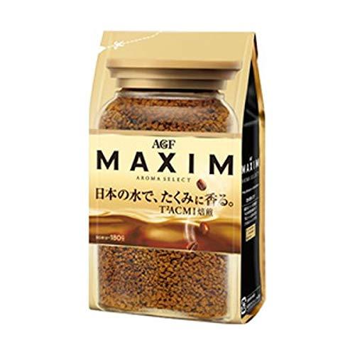 (まとめ)AGF マキシム 詰替用 1袋(180g)【×5セット】 フード ドリンク スイーツ コーヒー インスタントコーヒー 14067381 [並行輸入品] B07S321JWY