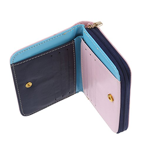 Femmes Porte TOOGOO Bourse Porte Faux carte Portefeuille cuir sac R monnaie rose Rrqqwg5I