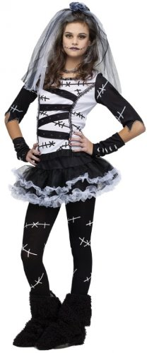 Monsters Bride Costume (Monster Bride Teen/Junior Costume - Teen)